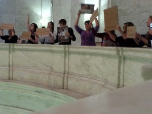 WV FREE protest against HB 2153
