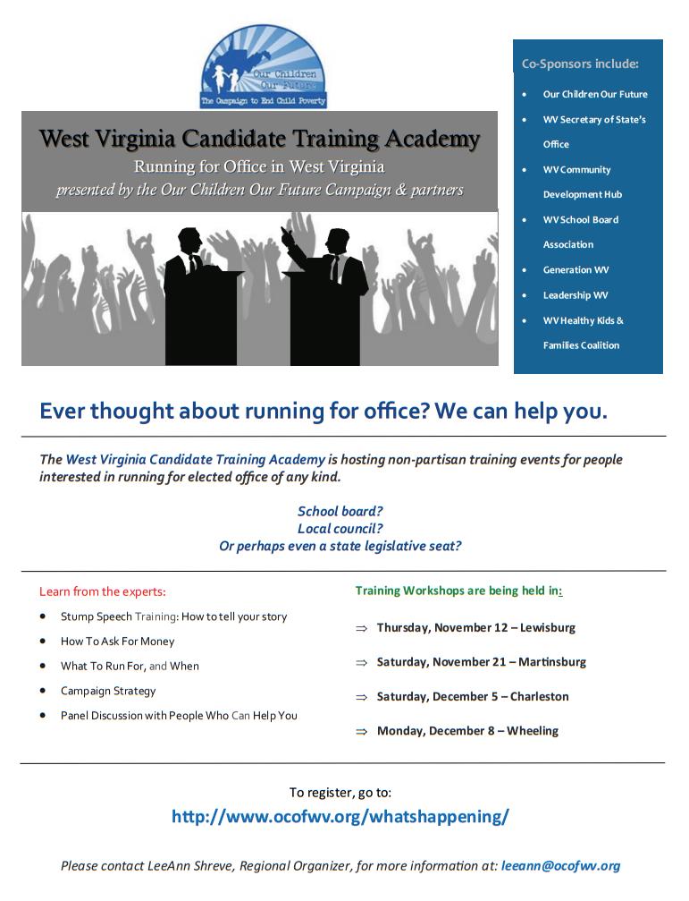 candidate training ocof