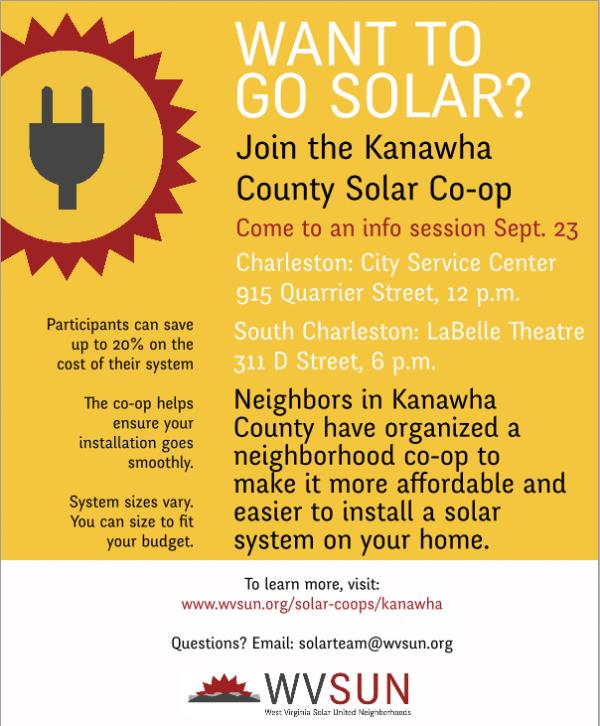 SUN flyer - kanawha county